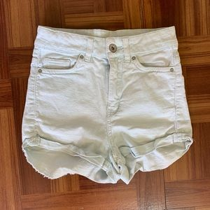 🌸H&M Mint Blue High Waisted Pants Sz 0